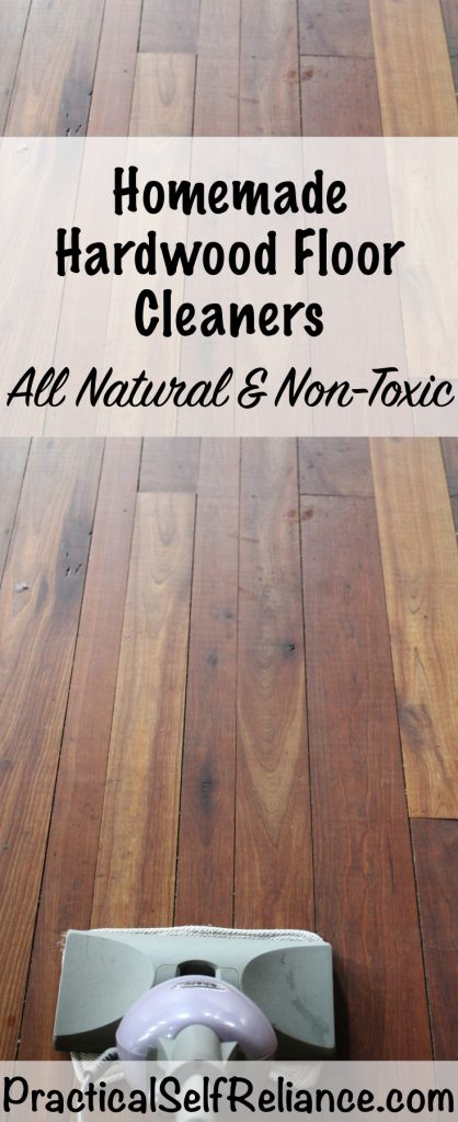 Homemade Natural Hardwood Floor Cleaners Practical Self