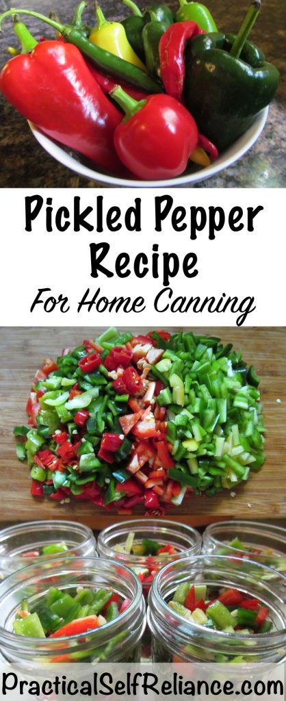 Pickled Pepper Recipe For Home Canning