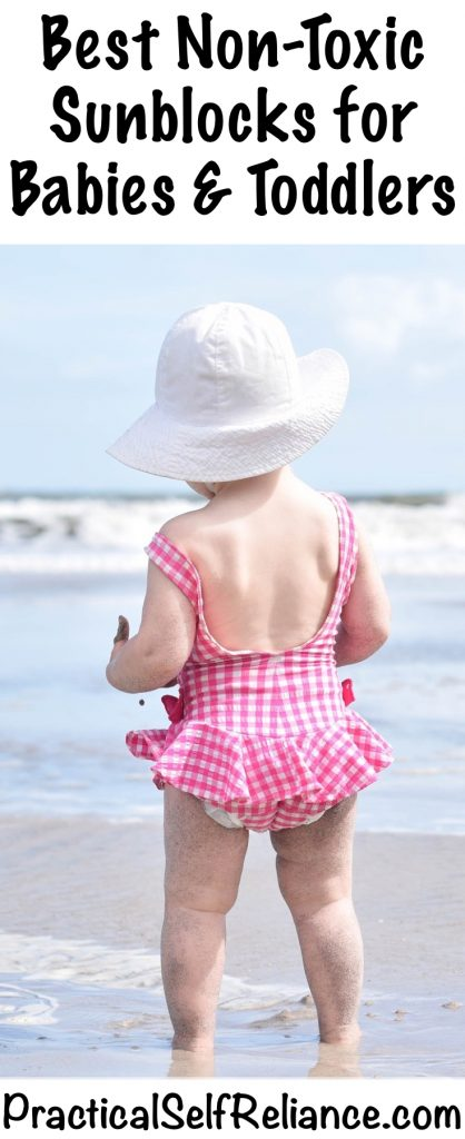 Best Non-Toxic Sunblocks for Babies and Toddlers