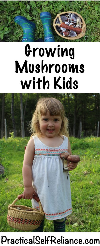Growing Mushrooms with Kids