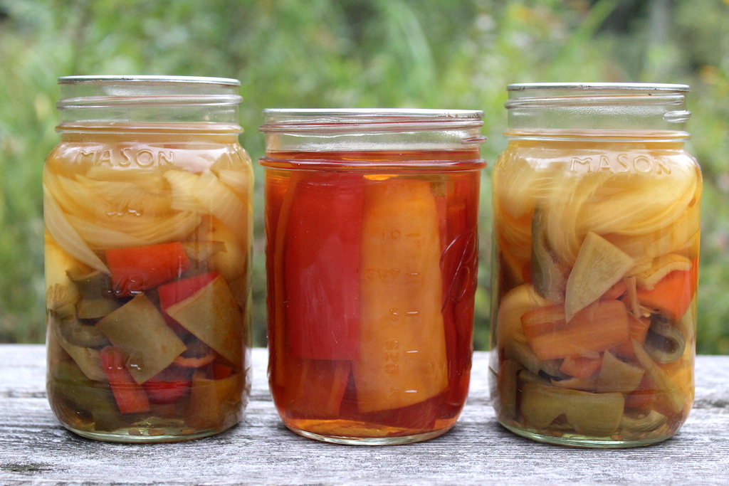Home Canned Pickled Peppers