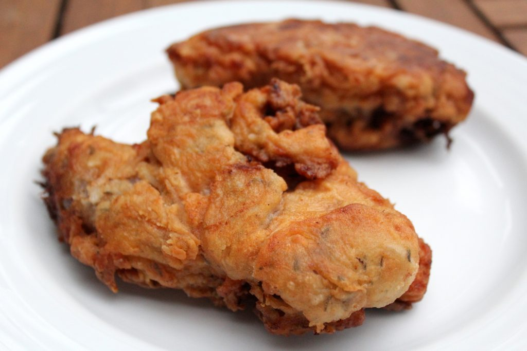 Buttermilk Fried Woodchuck (Groundhog)