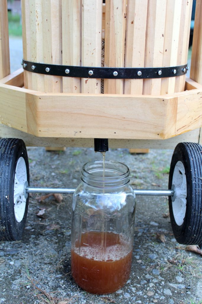 Double Barrel Cider Press Yield