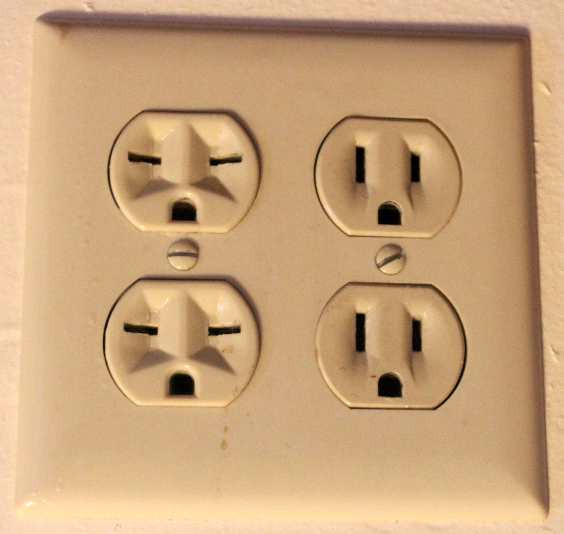 DC Direct Current Power outlets