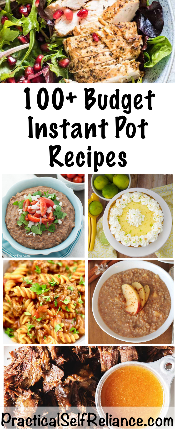 100+ Budget Instant Pot Recipes ~ Breakfast, Lunch & Dinner ~ Vegan, Keto, Paleo and More