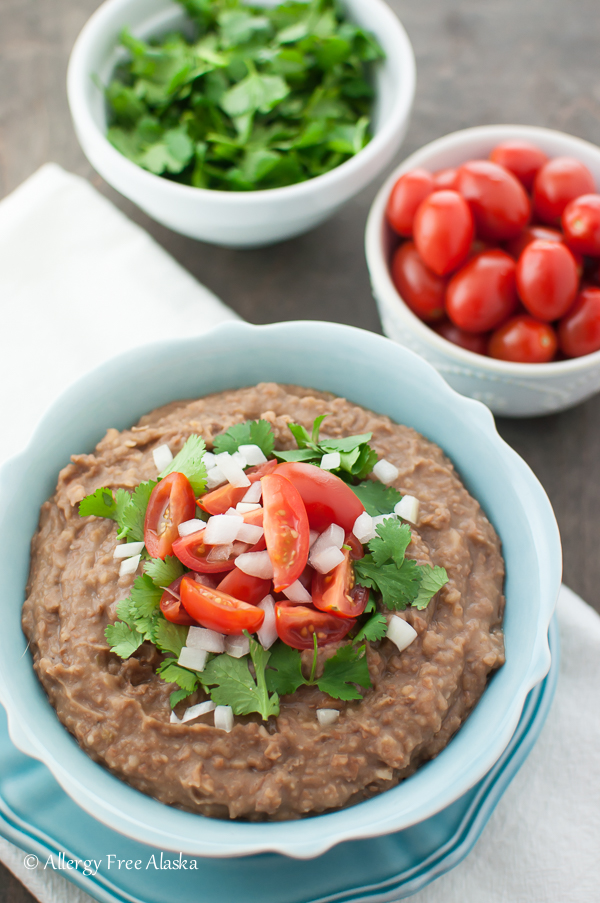 Instant Pot Refried Beans from Allergy Free Alaska