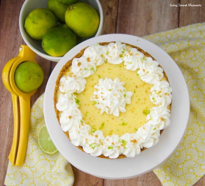 Instant Pot Key Lime Pie From Living Sweet Moments