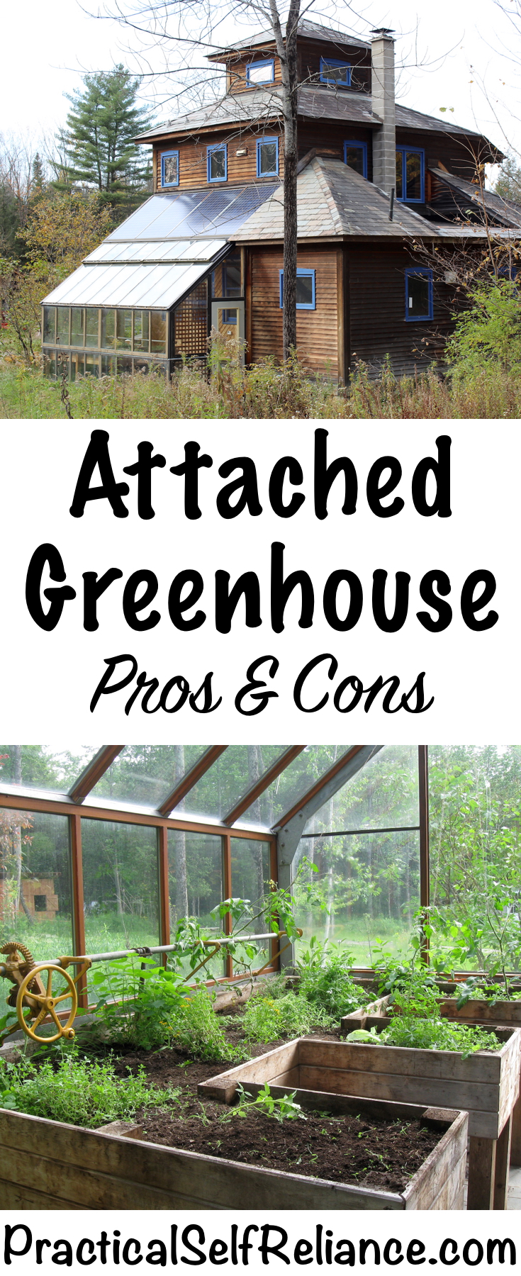 Attached Greenhouse Pros and Cons