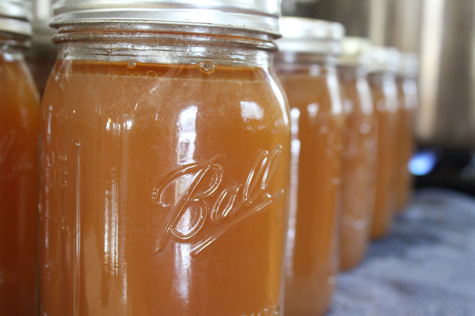 Pork Bone Broth Home Canning