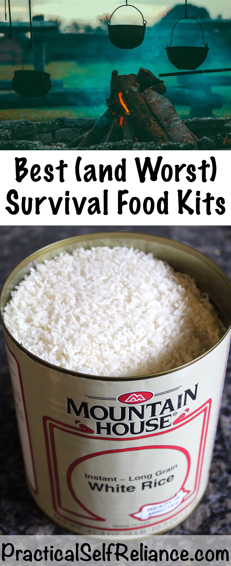 Best (and Worst) Survival Food Kits