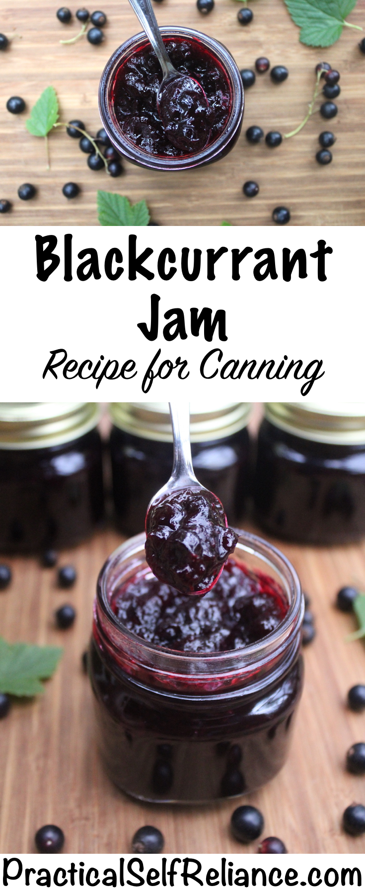 Blackcurrant Jam Recipe for Canning