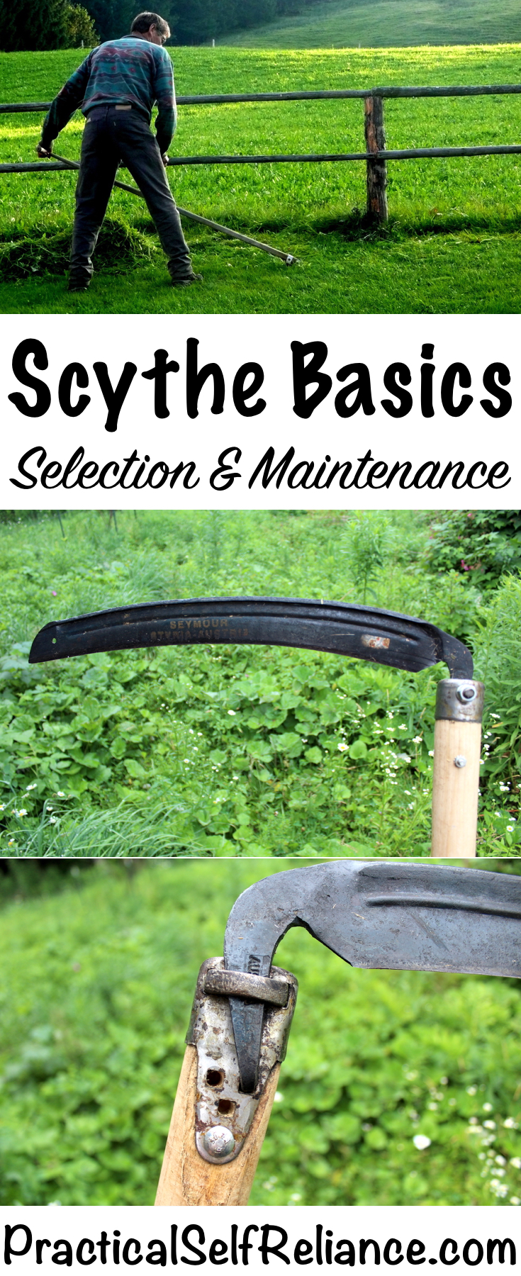 How to Select and Maintain a Scythe