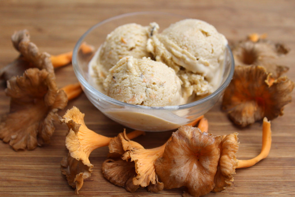 Chanterelle Ice Cream