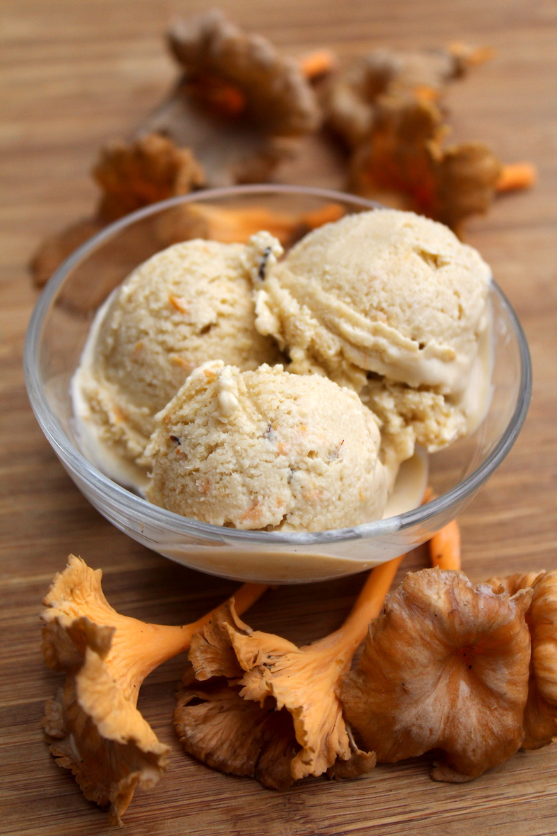 Homemade Chanterelle Ice Cream Recipe