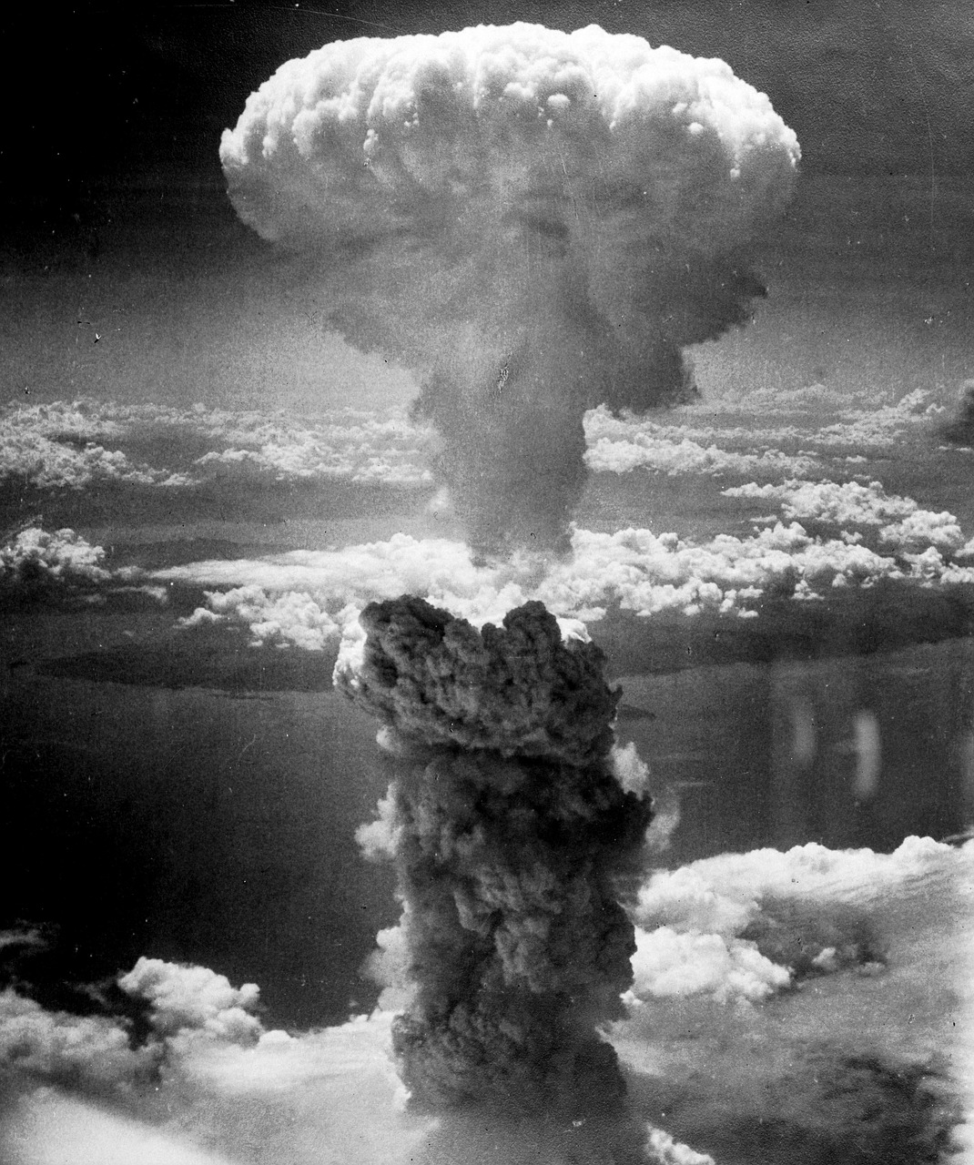 Atomic Bomb sending soot into the atmosphere to cause nuclear winter