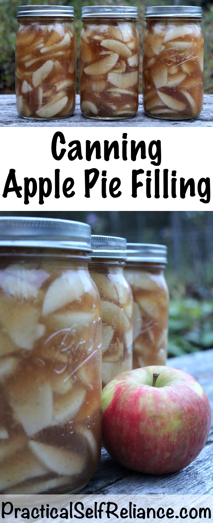 Canning Apple Pie Filling ~ Apple Pie Filling Recipe for Canning