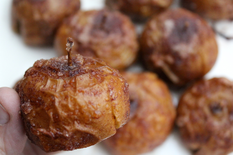 Slow Roasted Baby Apples