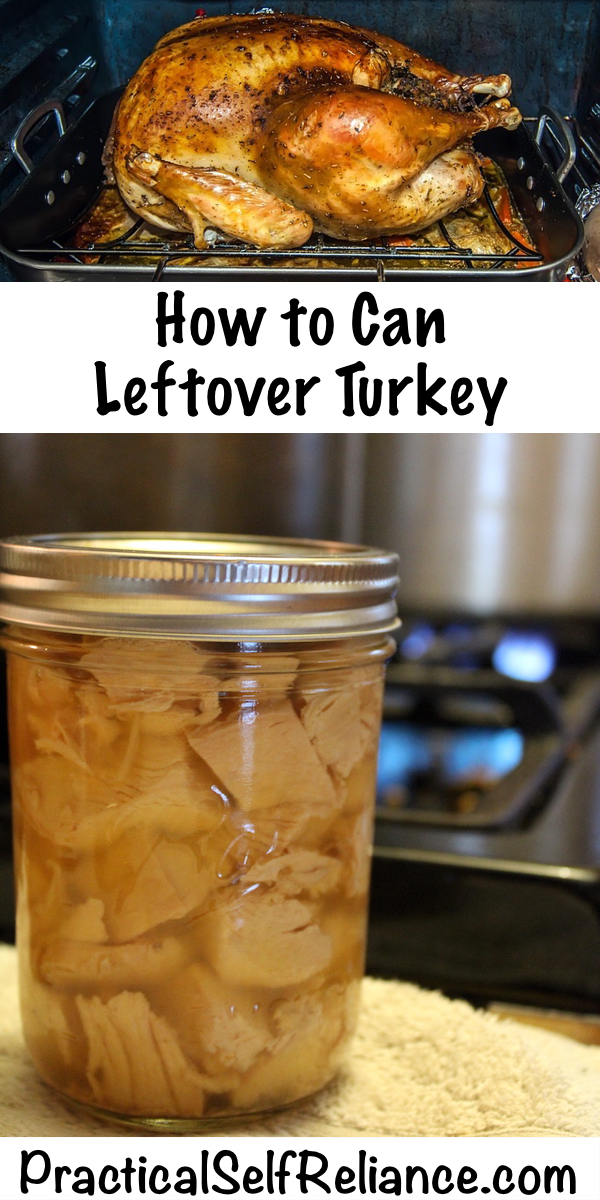 How To Can Leftover Turkey ~ Pressure Canning Turkey Meat