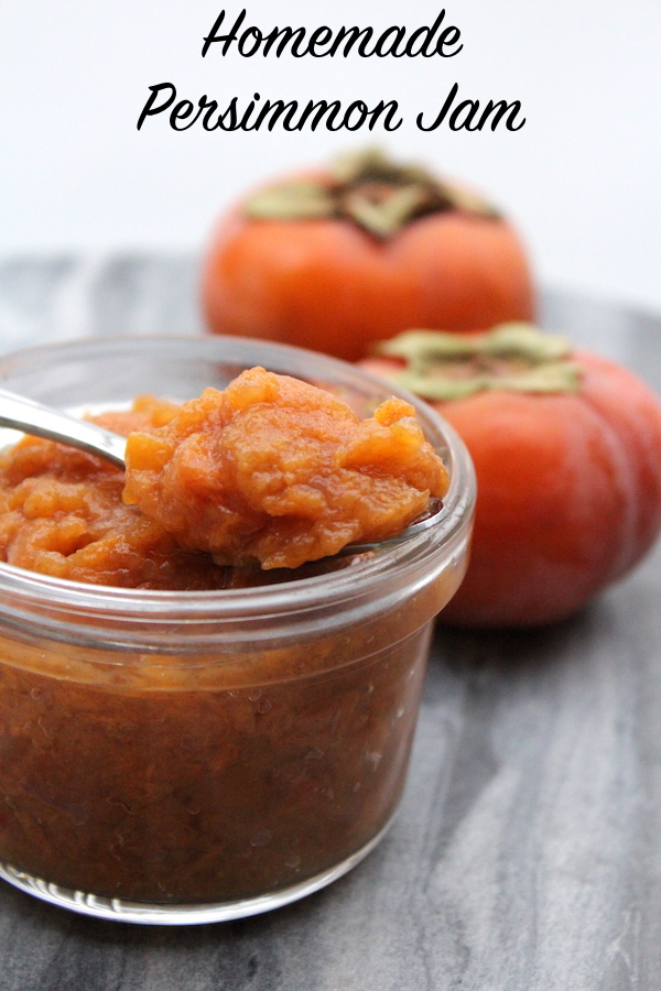 Homemade Persimmon Jam Recipe for Canning