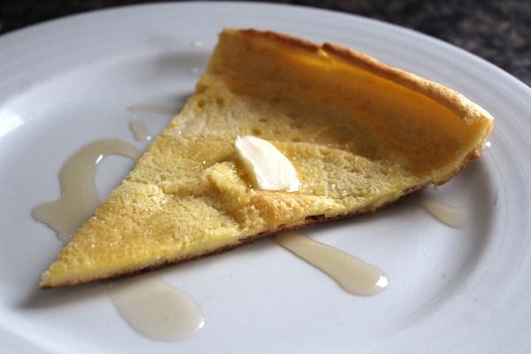 Plated Dutch Baby Pancake