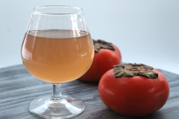 Homemade Persimmon Wine