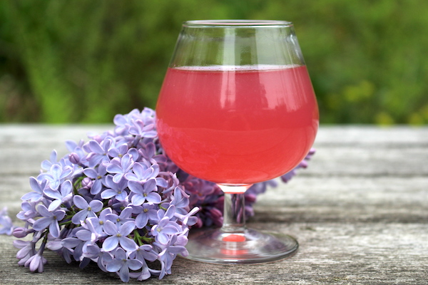 Homemade Lilac Wine