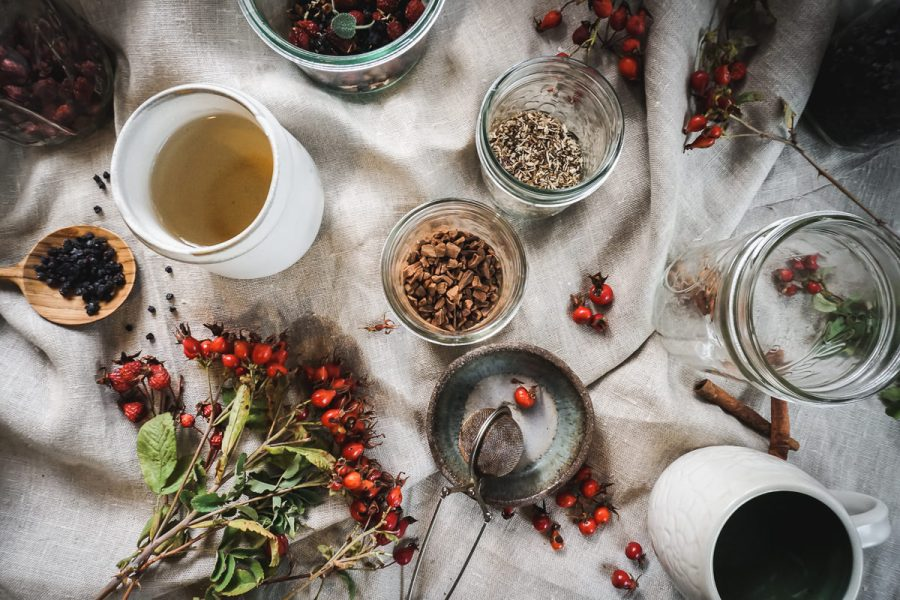 Herbal Immunity Tea for Winter Immune support