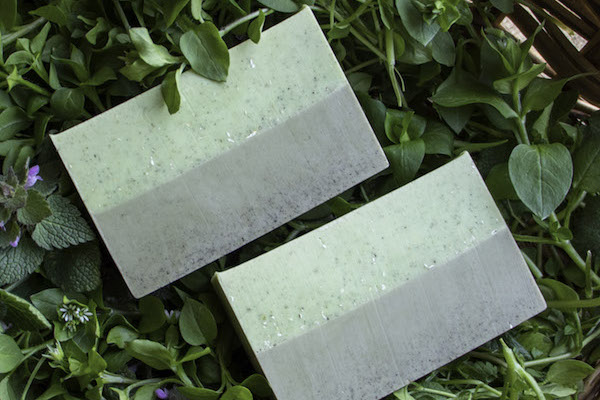Spring Weeds Gardener's Soap ~ Easy Melt and Pour Recipe