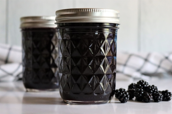 Blackberry Jelly Recipe without Pectin