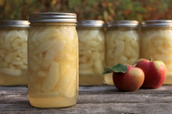 Canning Apple Slices