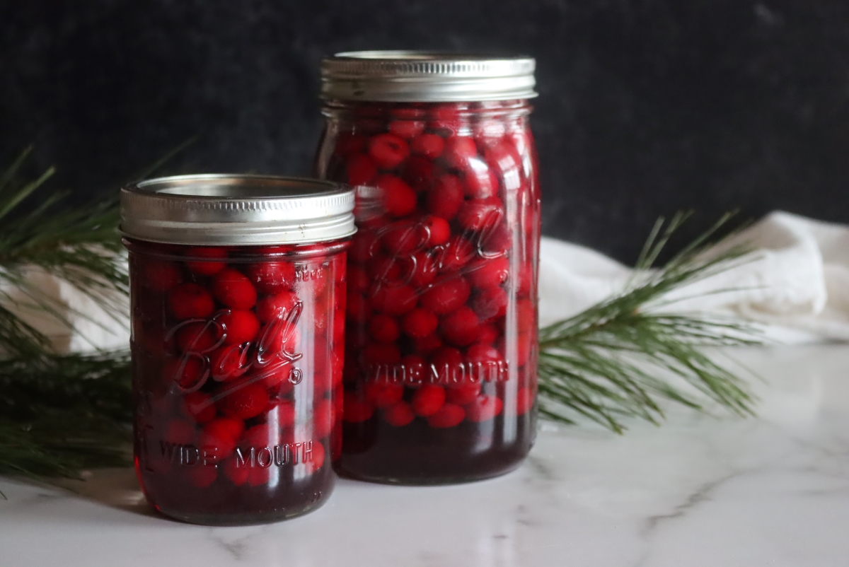 Canning Whole Cranberries