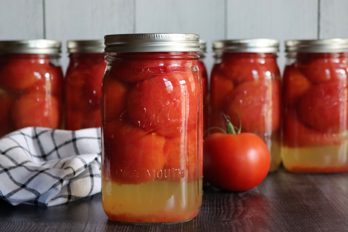 Canning Tomatoes (Whole or Halves)