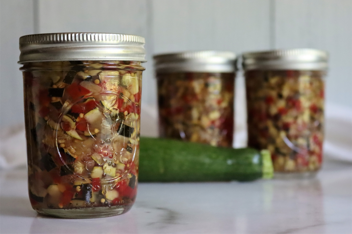 Zucchini Relish Recipe for Canning
