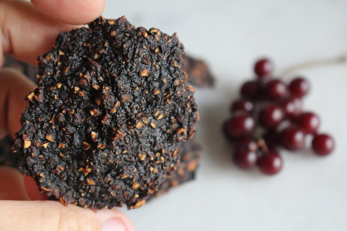 Dried Chokecherry Patties (Legren) ~ Native American Recipe