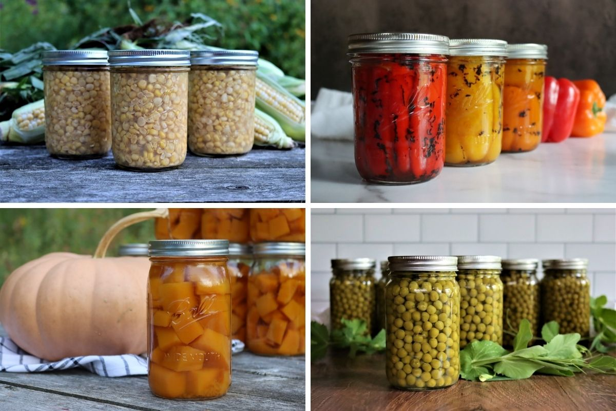 Canning Vegetables: 50+ Vegetable Canning Recipes from A to Z
